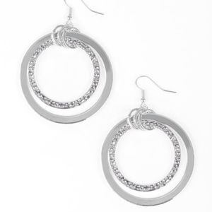 Free with Bundle East End Edge Silver Earrings
